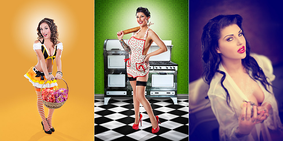 "How to Promote Pin-Up photography. How to Create that ""Pin-up"" look and feel"