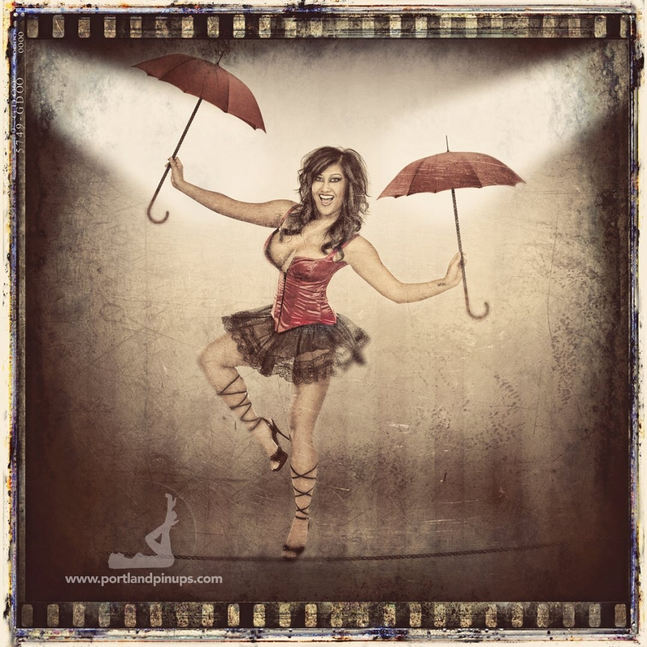 THE HIREWIRE…Everyday is a balancing act! Blow off the filth of 2020 with a fun, exciting and life changing experience at Portland Pin-Ups! Remember 2020 for being the best YOU that you can be.Get in touch today to begin your pin-up adventure.At Portland Pin-Ups, we believe that EVERY woman is a bombshell, and we love our clients!  We appreciate that visiting a professional photographer is rare these days and thank you for choosing us to capture your beauty.Professional hair styling, make-up artistry, lighting, 20 years of posing experience and industry leading retouching...the Portland Pin-Ups Magic. It's why you don't go to the guy who got a camera for Christmas….For curious photographers:Nikon D810 with 50mm 1.4G. Lights by ProPhoto.  Very mild massaging using Photoshop and  25 years of experience.