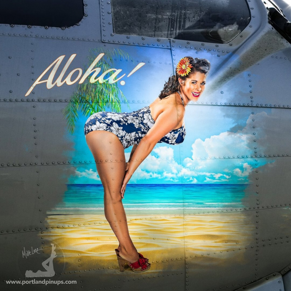ALOHA!Handbag from Gucci? Diamond ring? Sporty convertible? There are many ways to treat yourself…but only ONE Portland Pin-Ups.Go on…Upgrade YOUR selfie…www.portlandpinups.com